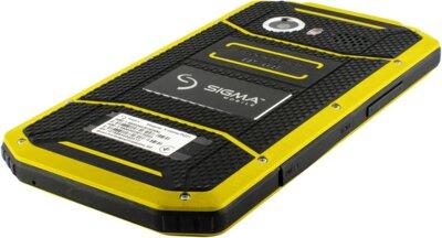 Смартфон Sigma X-treme PQ31 Yellow-Black 5
