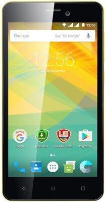 Смартфон Prestigio MultiPhone 3527 Wize NK3 Dual Yellow 1
