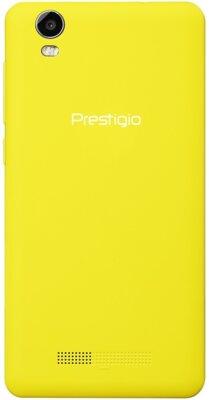 Смартфон Prestigio MultiPhone 3527 Wize NK3 Dual Yellow 2