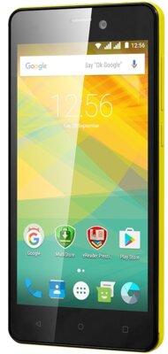 Смартфон Prestigio MultiPhone 3527 Wize NK3 Dual Yellow 3