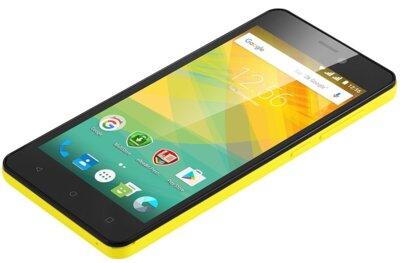 Смартфон Prestigio MultiPhone 3527 Wize NK3 Dual Yellow 6