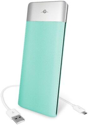Мобільна батарея Global G.Power Bank DP662 6000mAh Turquoise 1