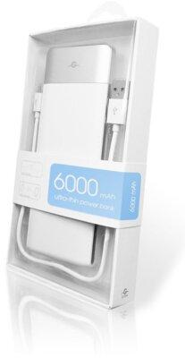Мобильная батарея Global G.Power Bank DP662 6000mAh White 4