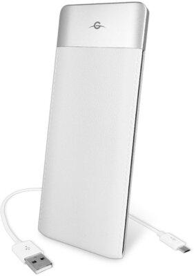 Мобильная батарея Global G.Power Bank DP662 6000mAh White 1