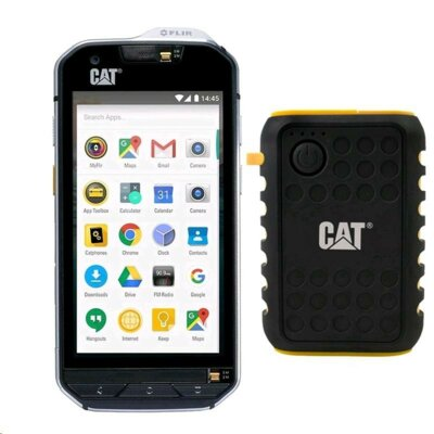 Смартфон CAT S60 Black + AT IP65 Rugged Power bank 1