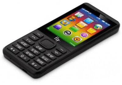 Мобильный телефон Fly FF281 Black 6
