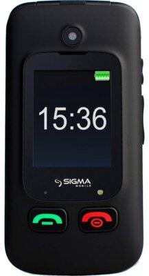 Мобільний телефон Sigma Comfort 50 Shell DUO Вlack 1