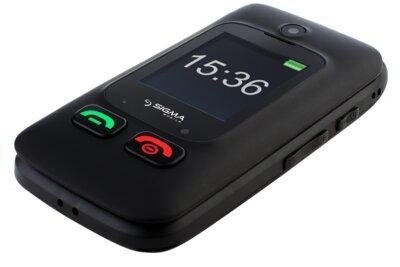 Мобільний телефон Sigma Comfort 50 Shell DUO Вlack 3