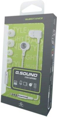 Гарнітура Global G.Sound C3063WtM White 2