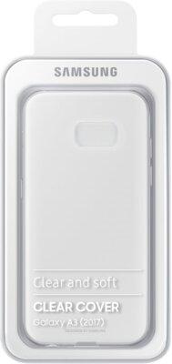 Чехол Samsung Clear Cover EF-QA320TTEGRU Transparent для Galaxy A3 (2017) 6