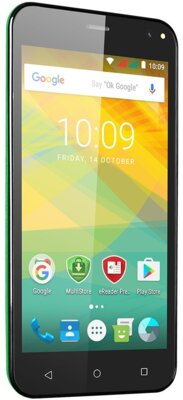 Смартфон Prestigio MultiPhone Wize NV3 3537 Green 5