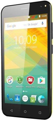 Смартфон Prestigio MultiPhone Wize NV3 3537 Yellow 3