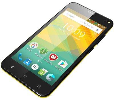 Смартфон Prestigio MultiPhone Wize NV3 3537 Yellow 5