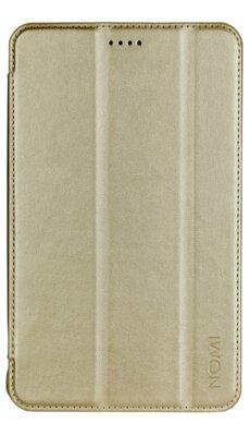Чехол Nomi Slim PU case для Nomi C070010/C070020 Gold 1
