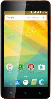 Смартфон Prestigio MultiPhone 3527 Wize NK3 Dual Orange 1