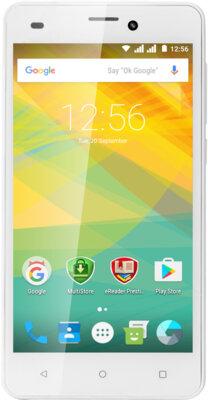Смартфон Prestigio MultiPhone 3527 Wize NK3 Dual White 1