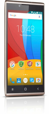 Смартфон Prestigio MultiPhone 5506 Grace Q5 Dual Gold 9