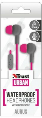 Навушники Trust Urban Aurus Pink 4