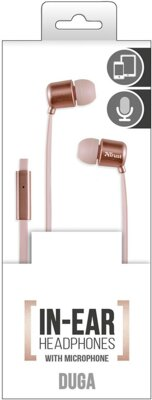 Наушники Trust Urban Duga Rose Gold 4