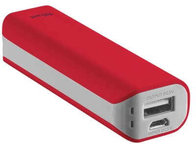 Мобільна батарея Trust Primo 2200 Red 1