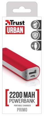 Мобільна батарея Trust Primo 2200 Red 4