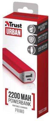 Мобільна батарея Trust Primo 2200 Red 5