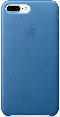 Чехол Apple Leather Case Sea Blue для iPhone 7 Plus 1