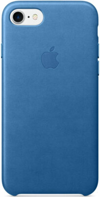 Чехол Apple Leather Case Sea Blue для iPhone 7 1