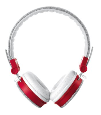 Наушники Trust Urban Revolt Fyber Headphone Grey/Red 1