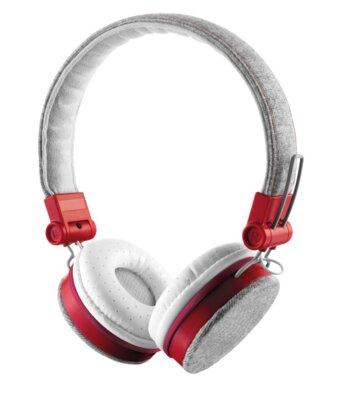Наушники Trust Urban Revolt Fyber Headphone Grey/Red 4