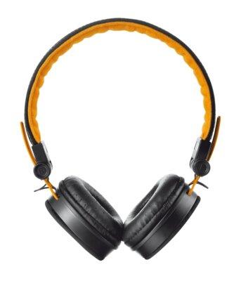 Навушники Trust Urban Revolt Fyber Headphone Black/Orange 1