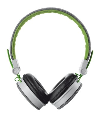 Навушники Trust Urban Revolt Fyber Headphone Grey/Green 1