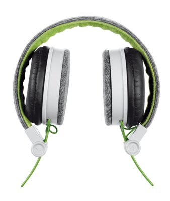 Навушники Trust Urban Revolt Fyber Headphone Grey/Green 3