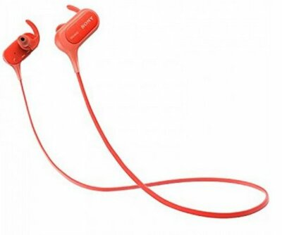 Навушники Sony MDR-XB50BS Red 1