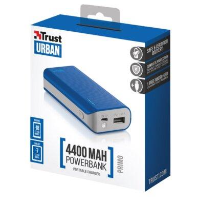 Мобільна батарея Trust Primo 4400 Blue 5