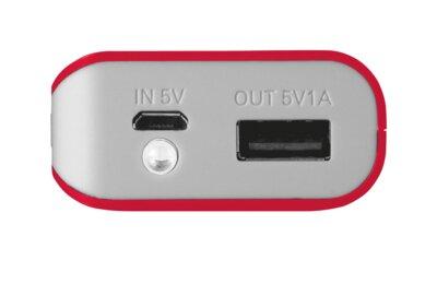 Мобильная батарея Trust Primo 4400 Red 3