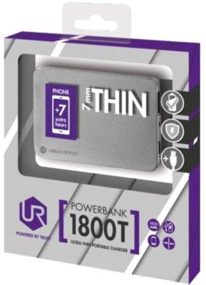 Мобильная батарея Trust Urban Revolt 1800T Silver 8