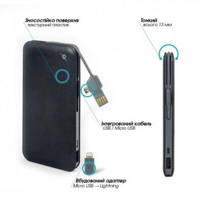 Мобільна батарея Global G. Power Bank DP622A Black 2