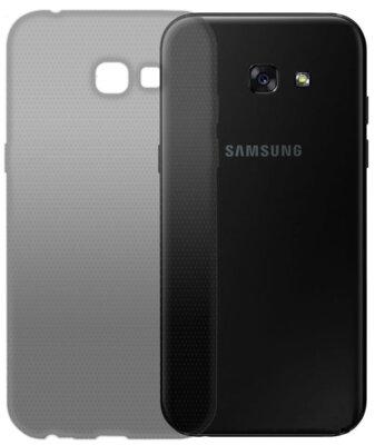 Чохол GlobalCase TPU Extra Slim для Samsung Galaxy A5 2017 Duos SM-A520 темний 1