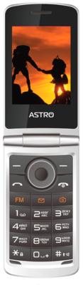 Мобильный телефон Astro A284 Silver 3
