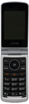 Мобильный телефон Astro A284 Silver 4