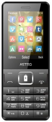 Мобільний телефон Astro B245 Black 1
