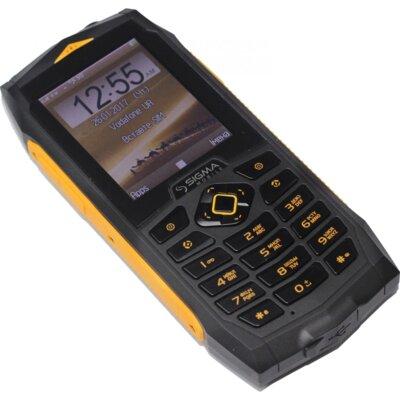 Мобільний телефон Sigma Х-treme PQ68 Black-Yellow 3