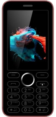 Мобильный телефон Viaan V241 Black/Red 1