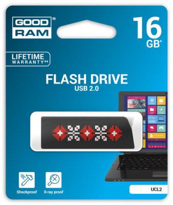 USB flash накопитель Goodram Click 16GB Ukraine Black 2