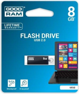 USB flash накопичувач Goodram Cube 8GB Black 2