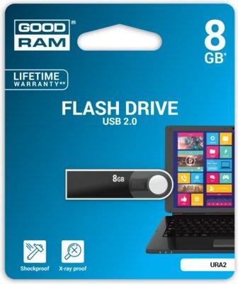 USB flash накопичувач Goodram URA2 08GB Black 5