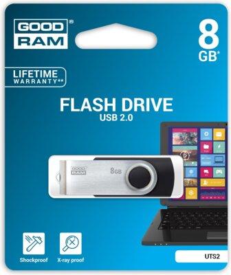 USB flash накопичувач Goodram Twister 8GB Black 4
