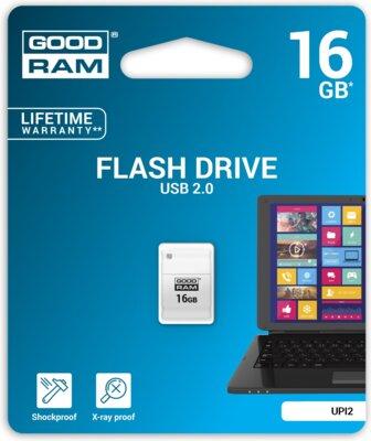 USB flash накопичувач Goodram Piccolo 16GB White 3