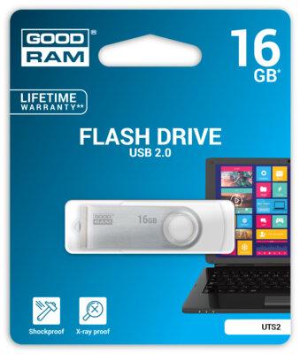 USB flash накопичувач Goodram UTS2 16GB White 2